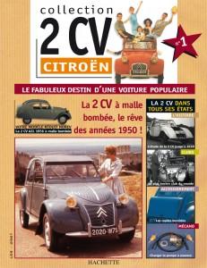 Livret 2 CV Citroën,  édition Hachette 170 numéros